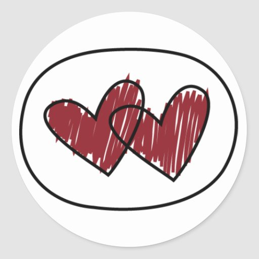 Valentine heart  Stickers