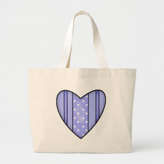 Valentine Heart T-shirts and Gifts Large Tote Bag