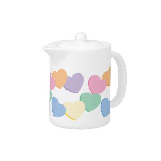 Valentine Heart Teapot