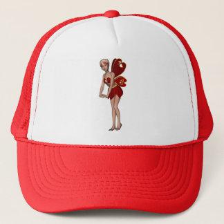 Valentine Hearts 3D Fairy -2 Trucker Hat