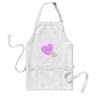 Valentine Hearts Adult Apron