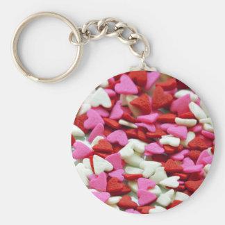 Valentine Hearts Keychain