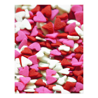 Valentine Hearts Letterhead