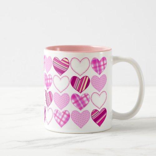 Valentine Hearts Mug mug