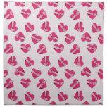 Valentine Hearts Napkins