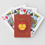 Valentine Hearts Playing Cards Bicycle Playing Cards