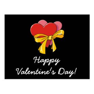 Valentine Hearts Postcard