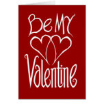 Valentine Hearts Red Card