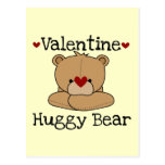 Valentine Huggy Bear Post Cards
