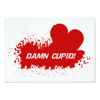 Valentine Humor invitation, customize Card