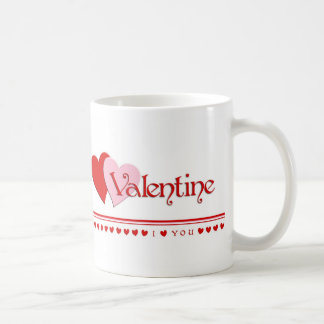 Valentine I Love You Mug