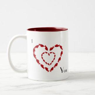 Valentine, I love You Two-Tone Coffee Mug