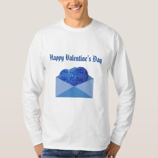 Valentine in the Mail Men's Basic Long Sleeve T