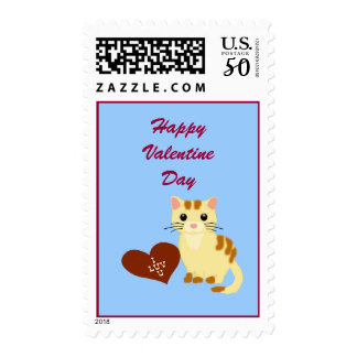 Valentine Kathy Kitten Postage