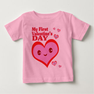 Valentine Kawaii Heart  T-Shirt