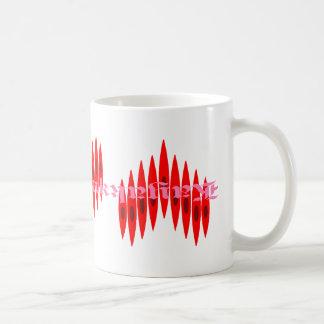 Valentine Kayak Hearts Coffee Mug
