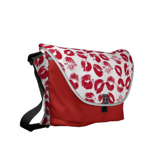 Valentine Kisses Courier Bags