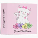 Valentine Kitty Binder
