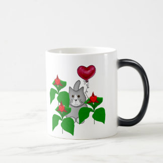 Valentine Kitty Cat Magic Mug