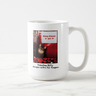 Valentine Kitty Kissing Booth Mug