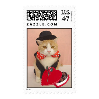 Valentine Kitty Postage