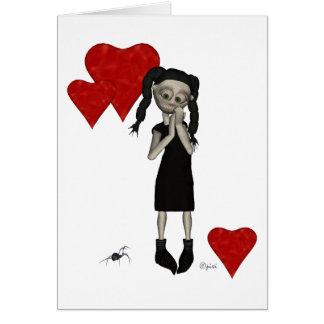 Valentine Lola - Greeting Card