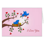 Valentine Love Birds Card