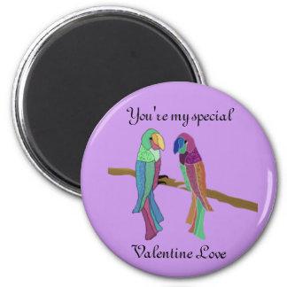Valentine Love Birds Magnet