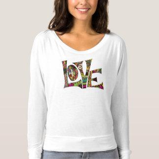 valentine, love, colorful illustration t-shirt