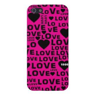 Valentine Love Heart Message iPhone 5 Case