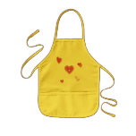 Valentine Love Hearts Aprons