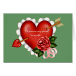 Valentine Love Hearts Greeting Cards