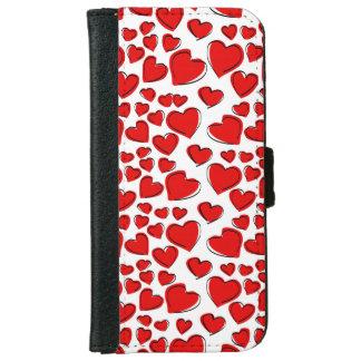 Valentine Love Hearts iPhone 6/6s Wallet Case