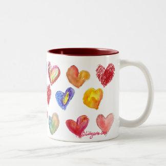 Valentine Love Hearts Mug 2 of 4