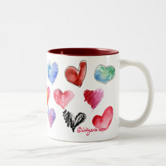 Valentine Love Hearts Mug 3 of 4