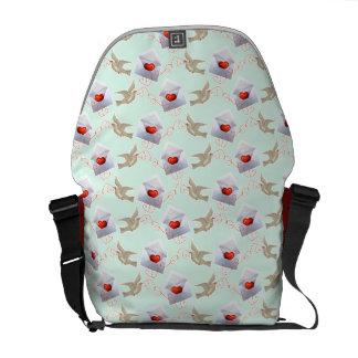 Valentine Love Letters Messenger Bag