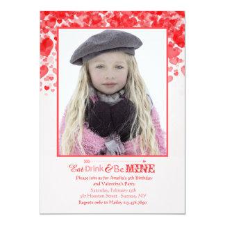 Valentine Love Photo Invitation