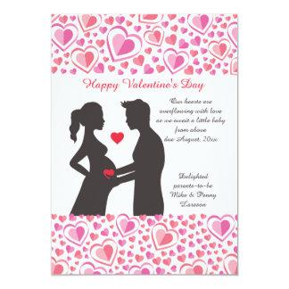 Valentine Love Pregnancy Announcement