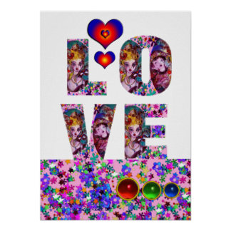 VALENTINE LOVE  VENETIAN MASQUERADE PARTY POSTER