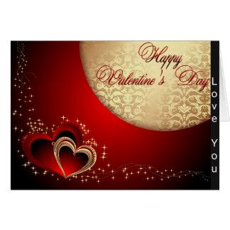Valentine Love You Heart Card