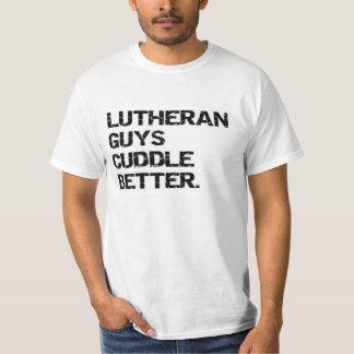 valentine: lutheran guys cuddle better T-Shirt