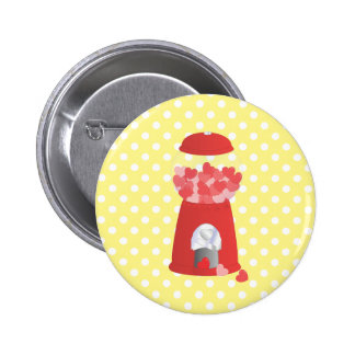 Valentine Machine 2 Inch Round Button