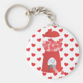 Valentine Machine Basic Round Button Keychain
