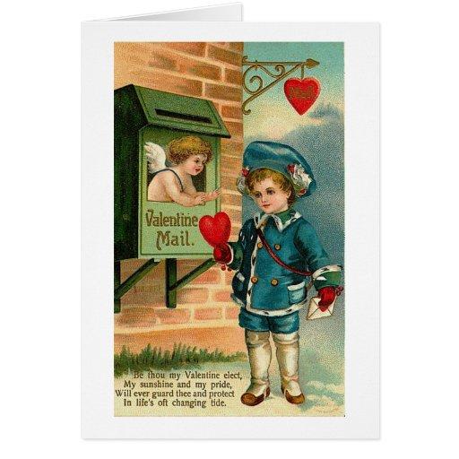 Valentine Mail Greeting Card