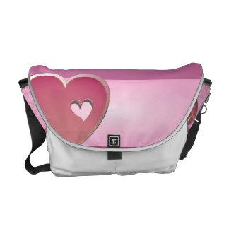 valentine messenger bag