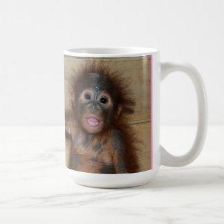 Valentine Mug Baby Orangutan