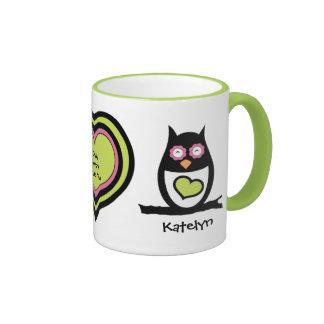 Valentine Owl Pair Mug