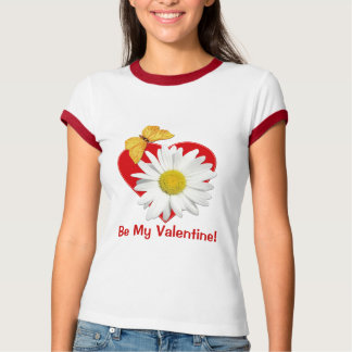 Valentine Party Daisy Butterfly Shirt