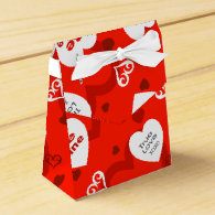 Valentine Party Favor Boxes
