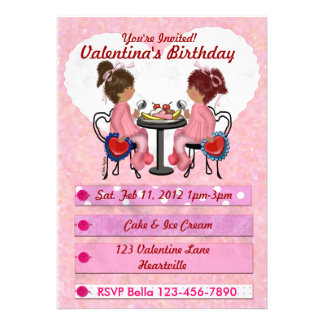 Valentine Party Personalized Announcement